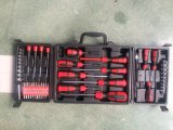 Juego de herramientas de mano 60PCS Tool Kit Mecánico Combinación destornilladores Sockets Bits