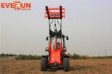 Carregador pequeno articulado Er20 da roda de Everun com lâmina da neve