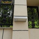 Luz solar de la pared del jardín del Luz-Control del LED