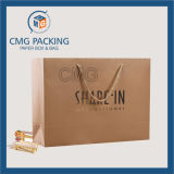 Oro Foil Hot Stamping Paper Bag con i pp Rope (CMG-MAY-026)