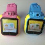 아이들의 디지털 손목 지능적인 시계를 두는 3G 이동 전화 GPS