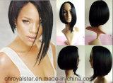 Волосы парика способа Rihanna женские короткие синтетические