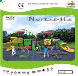 Campo de jogos das crianças ao ar livre da alta qualidade de tamanho médio de Kaiqi ajustado (KQ35017A)