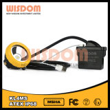 Wisdom Waterproof Atex Approuvé Cap Lamp / Kl4ms Mining Headlamp