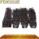 Самые лучшие человеческие волосы Supplier малайзийское Deep Wave 7A Grade Hair