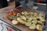 Apple 중국 상업적인 자동적인 전기 Peeler Corer 저미는 기계