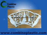 15 mm de PVC Junta de espuma / Hoja de decoración de la talla