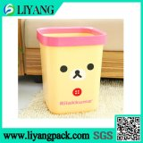Cute Cartoon Face, Heat Transfer Film for Trash Bin
