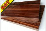 Furniture를 위한 High 박판으로 만들어진 Glossy UV MDF