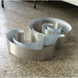 Letra de canaleta do metal que faz a máquina de dobra da máquina