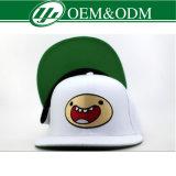 Sombrero blanco cepillado de la manera del bordado del sombrero del algodón