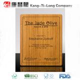 Récompense en bambou de panneau de mur d'Ecoedge
