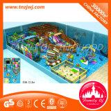 De Ce Goedgekeurde Apparatuur van de Speelplaats van de Structuur van Jonge geitjes Zachte in Guangzhou