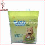 Levantar o tecido do bebê, Backsheet respirável, tecido confortável do bebê