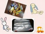 Sacchetto a chiusura lampo di plastica del LDPE di abitudine libera per l'imballaggio di alimento