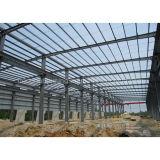 Almacén prefabricado de la estructura de acero de la construcción para el emplazamiento de la obra