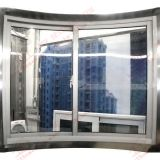 Surtidor profesional de la ventana de desplazamiento curvada aluminio (BHA-SWA05)