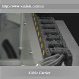 Xfl-1325 do CNC de trituração vertical dos materiais compostos e dos plásticos dos materiais exóticos do CNC da linha central do CNC 5 máquina de gravura do CNC do router