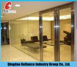 glas van de Vlotter van 6mm het Duidelijke/het Glas van de Vlotter/het Glas van de Bouw/Aangemaakt Glas/het Glas van het Patroon/Zuur Glas met ISO- Certificaat