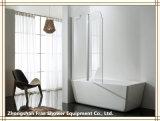 Mobilia sanitaria di vetro di allegato dell'acquazzone della porta a battenti degli articoli della stanza da bagno dello schermo di acquazzone
