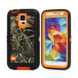 Caso della protezione di Camo dell'erba arancione per la galassia S6 di Samsung