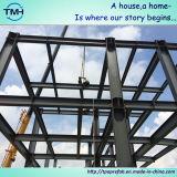 Edificio prefabricado de la estructura de acero para el taller