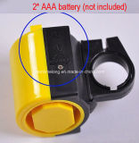 Chifre eletrônico Ultra-Alto do anel de Bell da mini bicicleta plástica