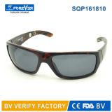 Gafas de sol del deporte del diseño de Laster de la fábrica de Sqp161810 Wenzhou con magnético