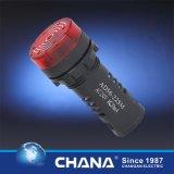 16mm 세륨과 RoHS 승인을%s 가진 직경에 의하여 보호되는 LED 표시기 램프