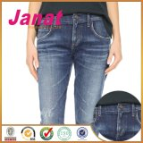 Кнопка джинсовой ткани хвостовика формы металла овальная
