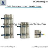 Fournisseur de la Chine, moulage à haute pression de /Precision de couplage d'oléoduc de réparation de pétrole de bride de réparation d'essence d'acier inoxydable