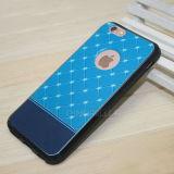 iPhone 6/6sのための印刷されたロマンチックな星TPUの電話箱と