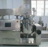 手のクリーム色の真空のステンレス鋼のミキサーの同質な乳状になる機械
