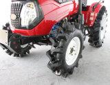 水田の車輪が付いている55HP 4X4wdの車輪のトラクター
