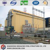 Structure de bâti en acier pour la centrale élevée