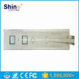 Ce RoHS IP65 certificación y fuente de luz del LED Todo en una luz de calle solar