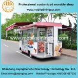 De Kar van het Voedsel van /Baking van de Vrachtwagen van het voedsel met het Lange Leven van de Dienst voor Verkoop