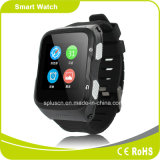 3G do podómetro pequeno do cartão 3G WCDMA Bluetooth WiFi GPS do cartão da sustentação SIM do ósmio 1.3G do Android 5.1 relógio esperto