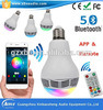 RGB LED Bulb con Mini Bluetooth Speaker Bt6 Controlled dal APP e da Remote