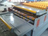 Telha de telhadura de aço da Dobro-Camada de Glavanized do mais baixo preço que faz a máquina