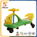 China Good Baby Swing Car com música Plastic Backrest Twist Car for Sale