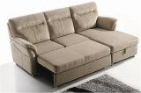 Sofá del cuero genuino de la sala de estar (C722)