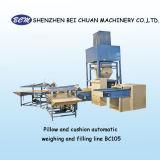 중국 고품질 자동적인 방석 충전물 기계