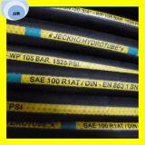 Erstklassige Flechten-hydraulischer Schlauch des Qualitätssae 100 R1 at/DIN en-853 Draht-1sn