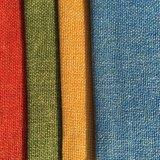 Stück gefärbtes deutlich gesponnenes Gewebe (R034)