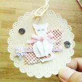 Impressão que pendura o Tag decorativo/ofício de papel impresso Handmade do animal DIY