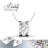 Het Kristal van de Juwelen van het lot van het Geven Swarovski Tegenhanger & Halsband