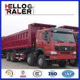 Caminhão de Tipper comercial dos caminhões de descarga de Sinotruk HOWO 8X4 Hw76cab