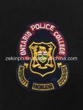 Изготовленный на заказ заплата вышивки формы для одежды полиций