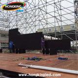 Visualización de LED a todo color al aire libre de la pantalla de alquiler profesional de la etapa